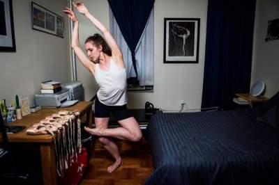 Фотограф побывал в спальнях нью-йоркских балерин. Фото