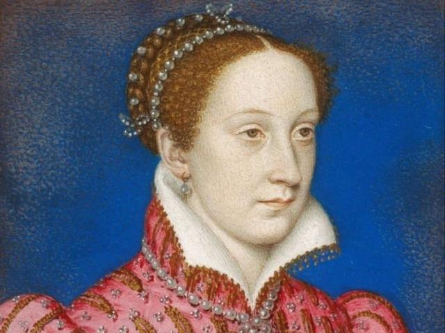Королева Шотланди Мария Стюар.