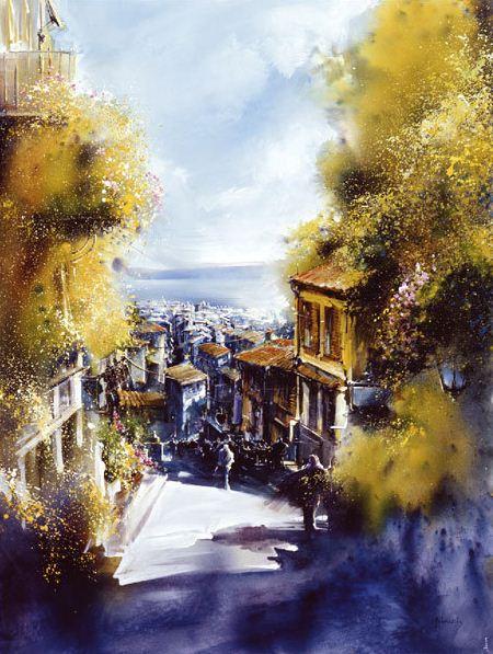 Roland-Palmaerts.-Osen-akvarelyu.-Akvarel-dvadtsat-vtoraya (450x597, 299Kb)