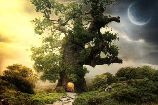 Сказачное дерево