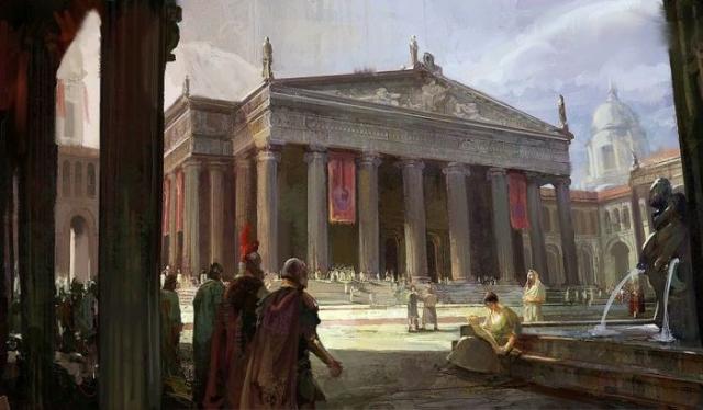 Здание Александрийской библиотеки. | Фото: ru.civilopedia.wikia.com.
