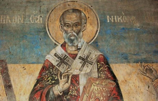 Епископ Николай Чудотворец.