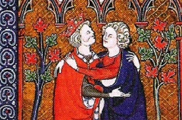 Давид и Ионафан.