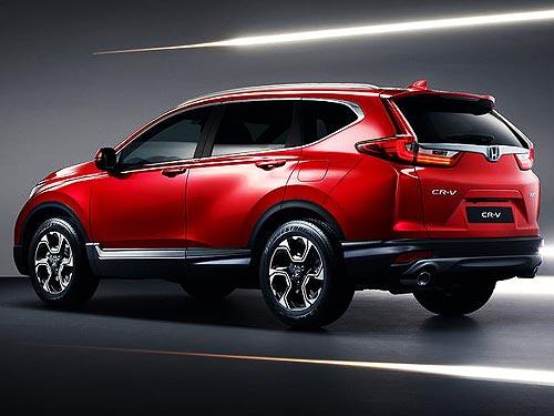 Осенью в Украине стартуют продажи новой версии Honda CR-V с двигателем 1,5 л - Honda