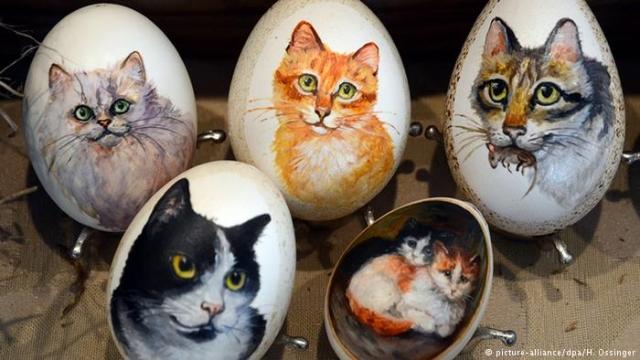 Пасхальные яйца - необычные, забавные, пикантные
