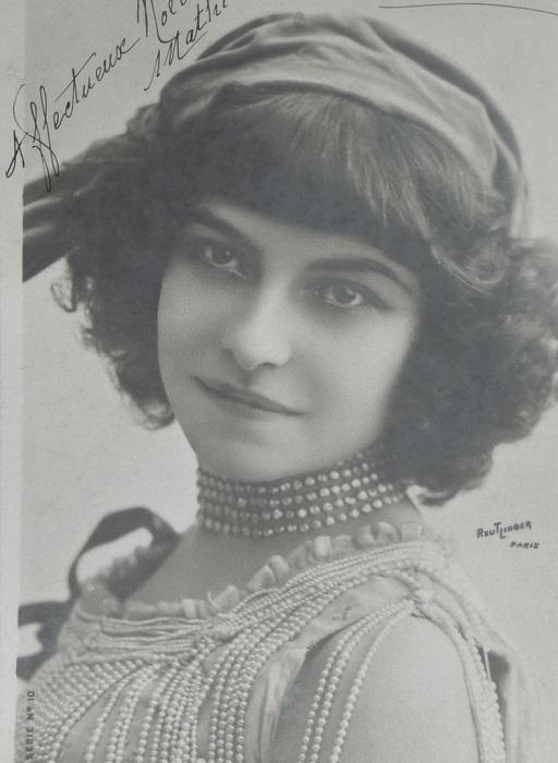 Портрет актрисы и певицы периода 1890-1930-х гг. Полин Полер. | Фото: pp.vk.me.
