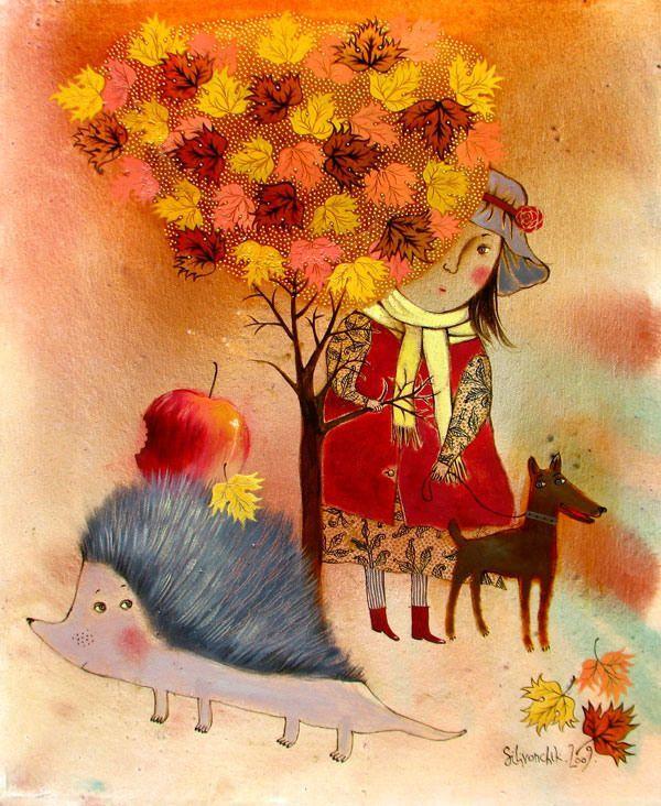 Фото: Сказочные миры для взрослых в картинах белорусской художницы (Фото)