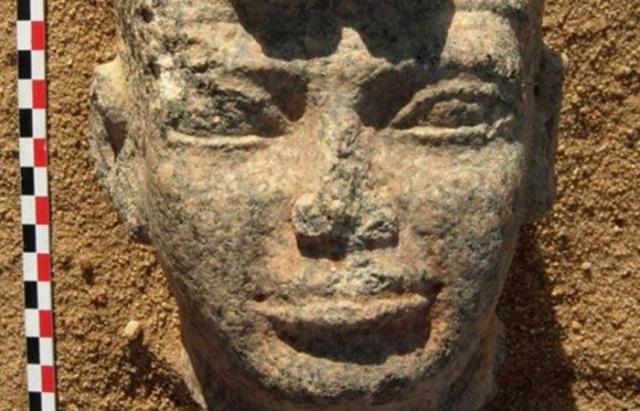 Древний Египет: лицо Аспелта.