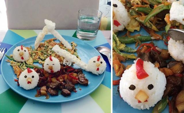Простейшие рецепты с фото, как сделать блюда веселыми