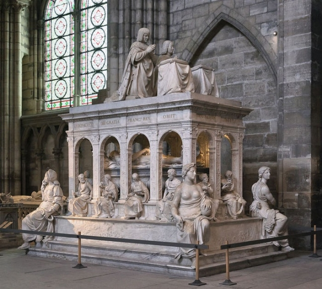 Гробница Людовика XII и Анны Бретонский в базилике Сен-Дени, Франция