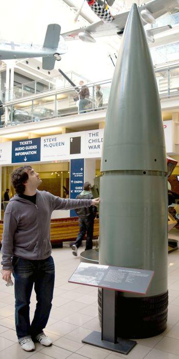 800 мм снаряд для «Доры». Имперский военный музей, Лондон.