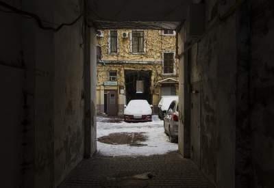 Снежная Одесса в необычных снимках. Фото