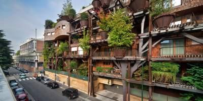 Два в одном: создан жилой комплекс, похожий на огромный парк. Фото