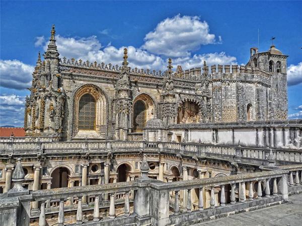 Португалия, Томар: Монастырь Ордена Христа - главная твердыня португальских тамплиеров