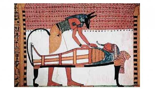 Спящий фараон.