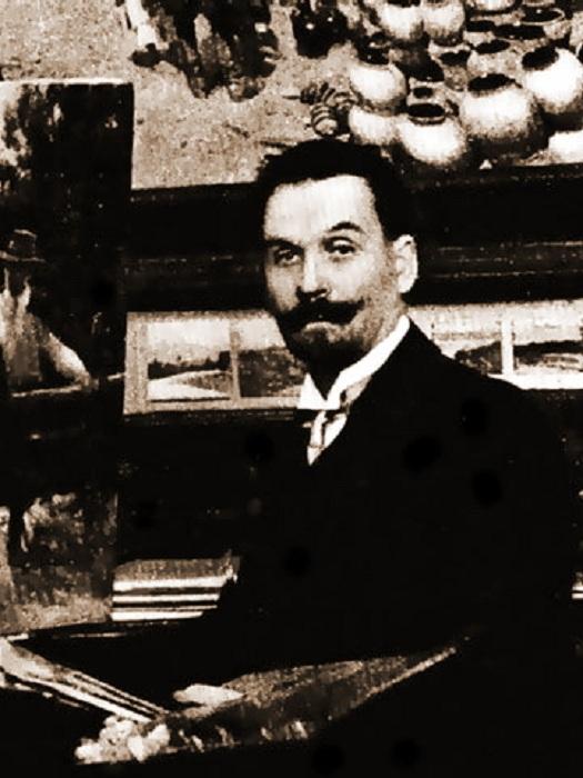 Николай Корнильевич Пимоненко. Фото.