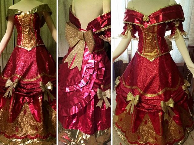 Платье на Новый год своими руками