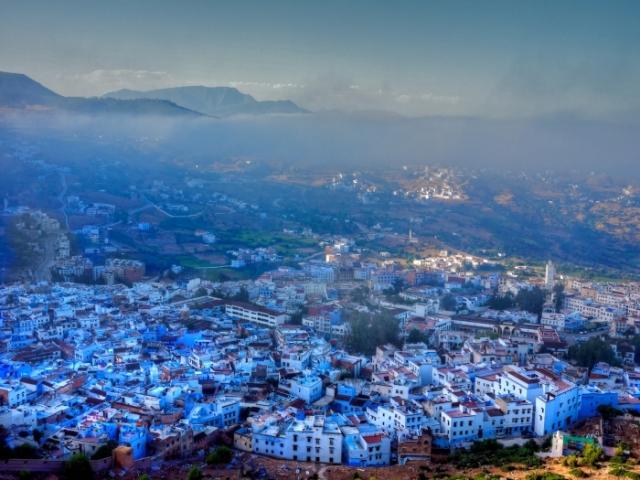 Город небесного цвета. / Фото: www.galactikka.com