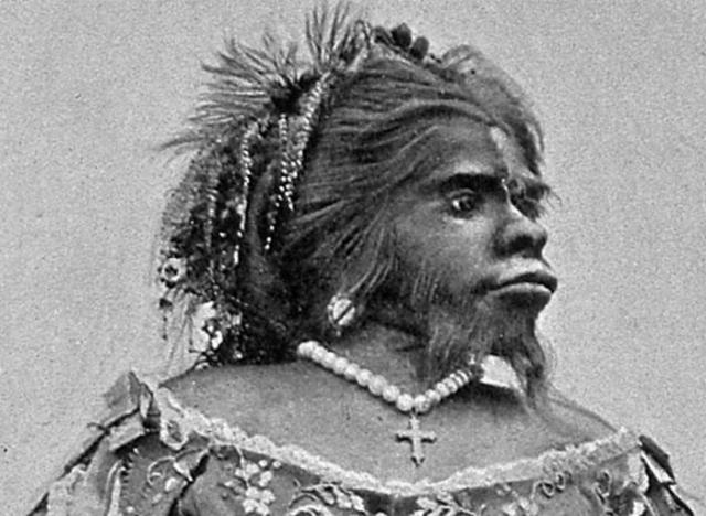 Бородатая женщина Хулия Пастрана.