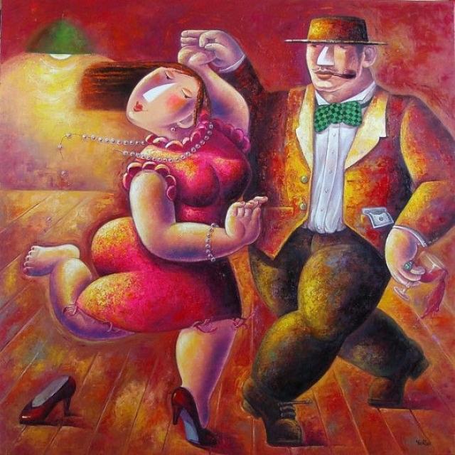 Заводные танцы. Автор: Yutao Ge.
