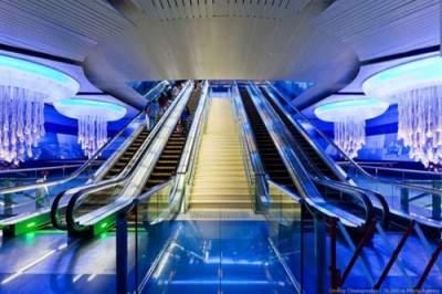 Так выглядит самое прогрессивное в мире метро. Фото