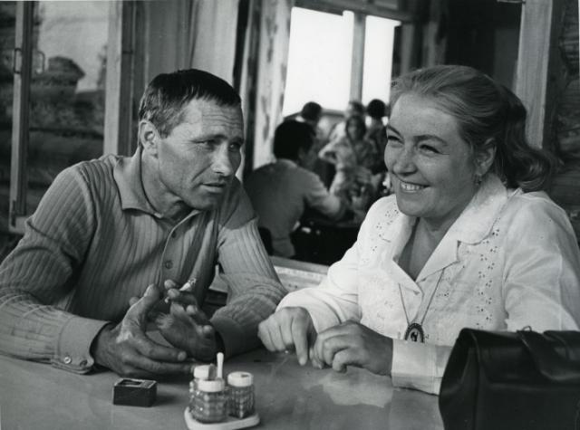 Лидия Федосеева и Василий Шукшин. / Фото: www.kultpro.ru