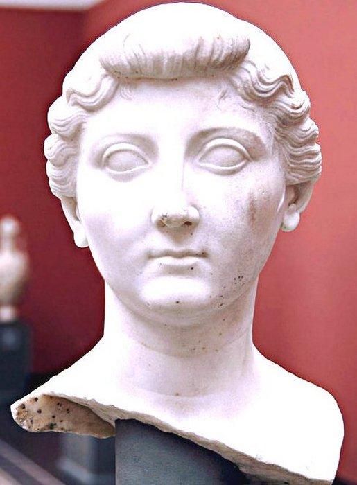 Ливия Друззила, жена императора Октавиана Августа, Рим.