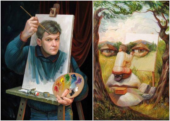 """Результат пошуку зображень за запитом """"Картины-иллюзии от украинского художника Олега Шупляка."""""""