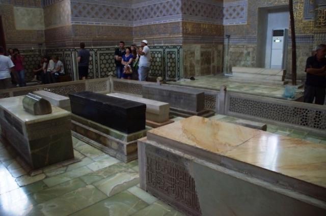 Самаркандская гробница Тамерлана и его близких./Фото: www.beer-viktor.ru