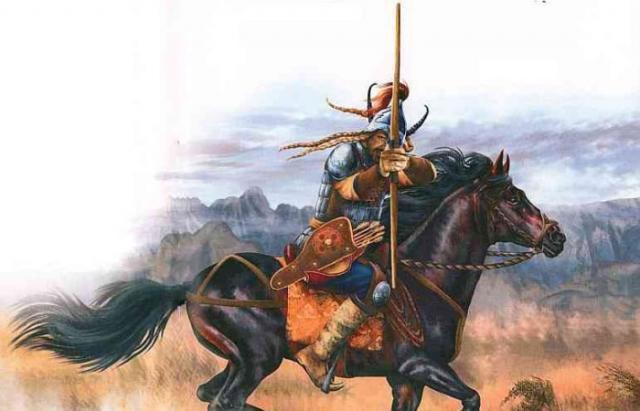 Монголы серьёзно разорили булгарское царство и убили множество людей из народов, населяющих Волгу.