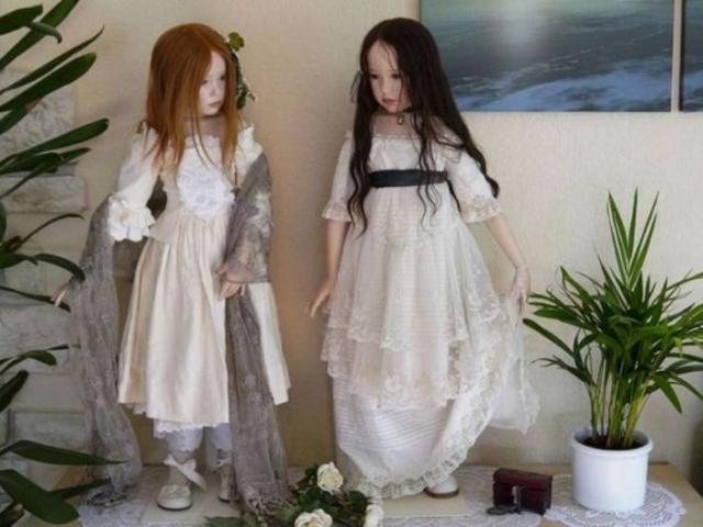 Авторские куклы  Jeanne Gross.