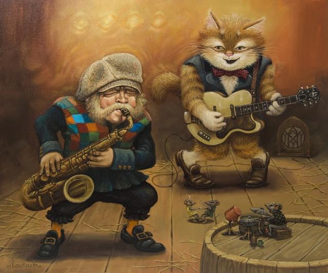 Рок-н-ролл жив! Автор: Александр Маскаев.