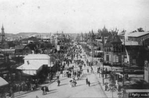 Головна алея Галицької виставки крайової