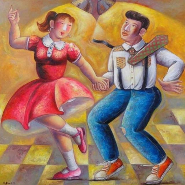Танцы. Автор: Yutao Ge.