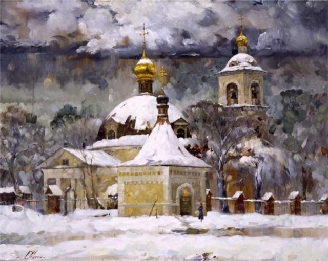 художник Сергей Кузин картины – 15