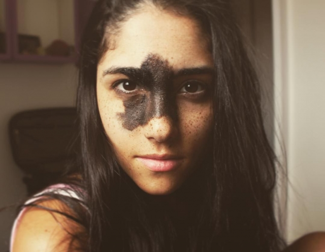 Фото: Красивая бразильская девушка с необычной внешностью, покорившая Instagram (Фото)