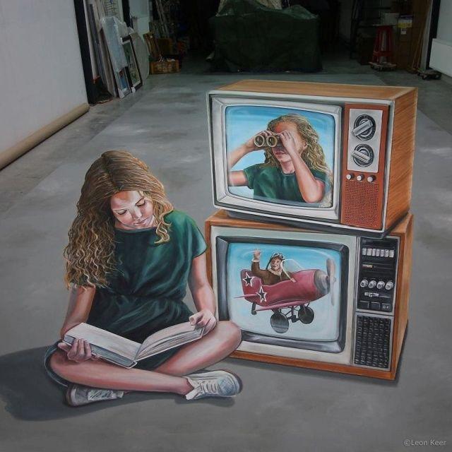 Фото: Невероятно реалистичное уличное искусство от голландского художника (Фото)