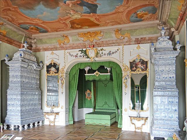 В одном из 138 помещений Рундальского дворца. | Фото: flickr.com.