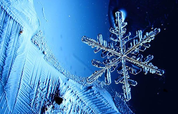 """Новогодняя картинка """"Снежинка"""""""
