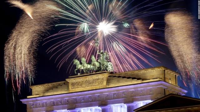 Новогоднее шоу в Берлине