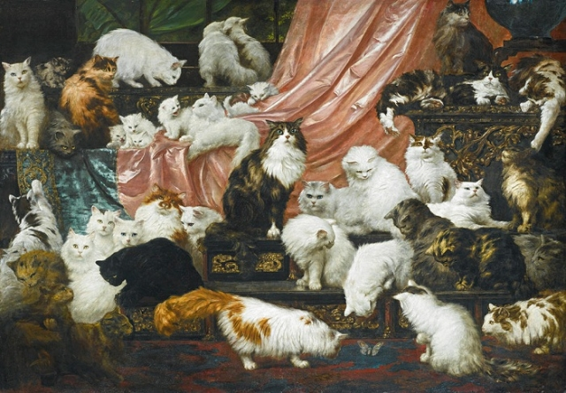 «Любовники моей жены». (1891—1893). Автор: Карл Кахлер.