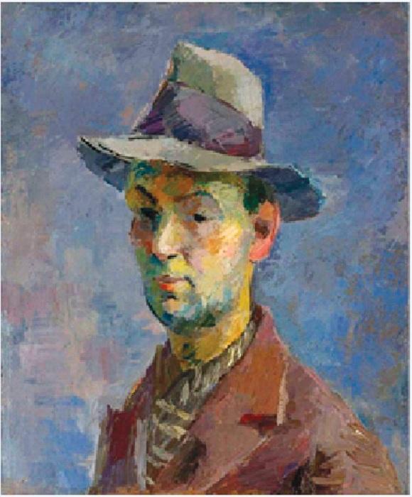 Автопортрет. (1931г.).