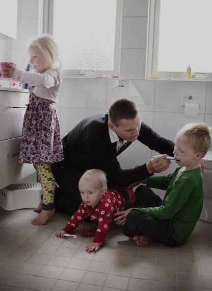 Фото: Милые и чувственные снимки отцов, что не боятся остаться с ребенком (Фото)
