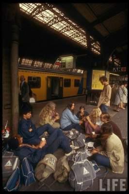 Европа 1970-х в красочных снимках. Фото