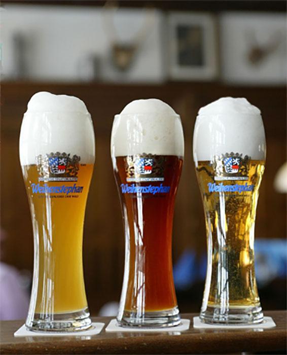 Пиво Weihenstephan.