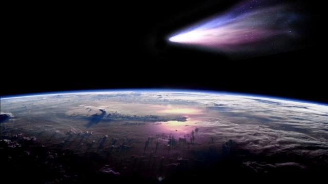 Новые данные астрономов: В 2061 году комета Галлея столкнётся с Землёй
