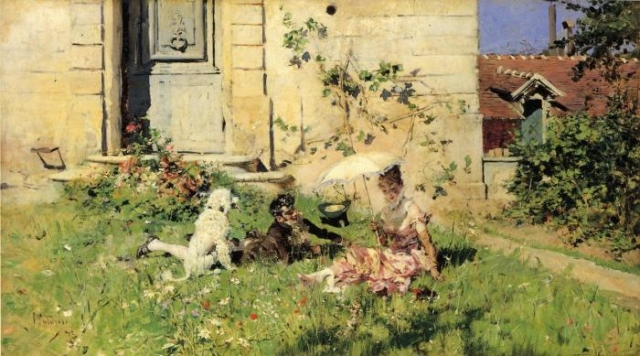 Весна. Автор: Giovanni Boldini.