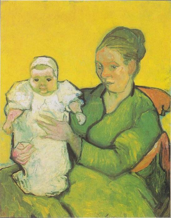 Син с ребенком. Автор: Ван Гог.