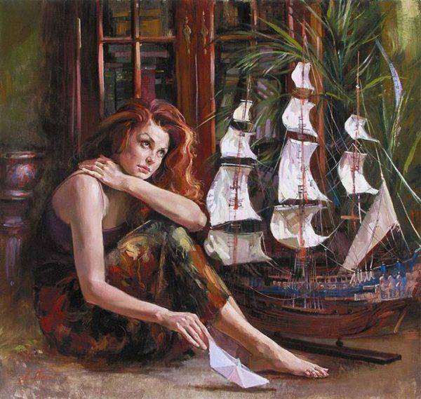 картины Ирен Шери (Ирина Вишневская) картины - 09