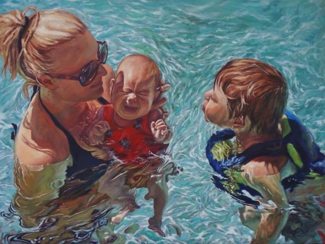Американский художник. Erick Pontvianne